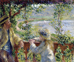 RENOIR Pierre-Auguste By the Water c.1880