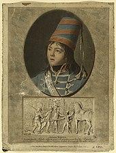 Joseph Bara in Husarenuniform (Pierre-Michel Alix, 1793). (Quelle: Wikimedia)