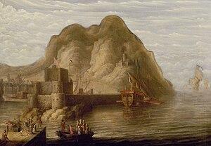 Peter van de Velde - View of Gibraltar