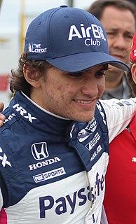 Pietro Fittipaldi Brazilian-American racing driver