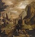Pietro della vecchia - Landscape with warriors2.jpg