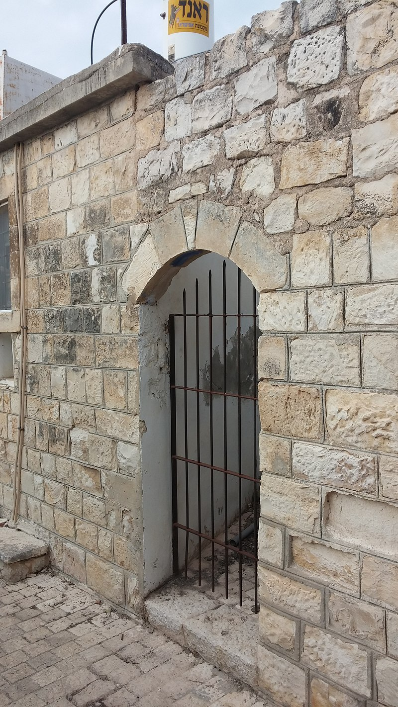 צפת העיר העתיקה פתח משוחזר