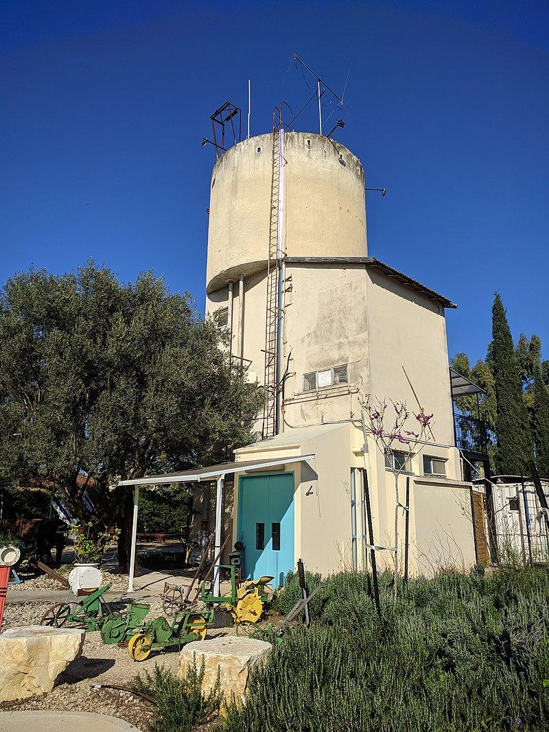 מגדל המים ברמת יוחנן
