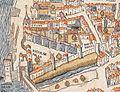 Plan de Paris vers 1550 porte de Buci.jpg