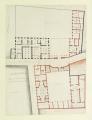 Plan du rez-de-chaussée du Petit Luxembourg avec basse-cour, 1709 project - Gallica 2011-09.png