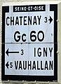 Plaque Michelin à Verrières-le-Buisson, rue des grand chênes - 01.jpg