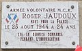 Plaque Mort pour la Libération de Paris Boulevard des Invalides.jpg