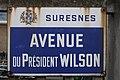 Plaque avenue du Président-Wilson Suresnes.jpg