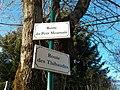 Plaques Route Petit Meumain Route Thibaudes St Cyr Menthon 2011-11-23.jpg