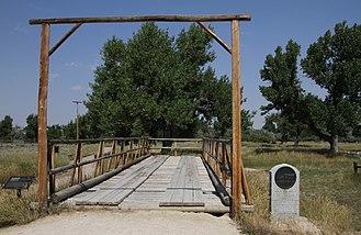 Fort Caspar - Reconstructed Platte Bridge