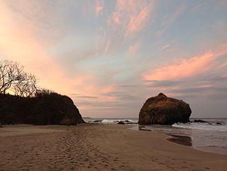 Playa Grande, Costa Rica - Playa Grande at dawn