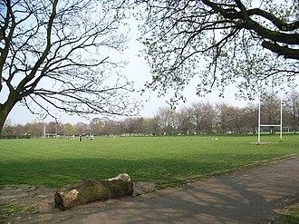 Bushy Park, Dublin - Playing fields in Bushy Park