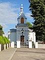 Podlaskie - Krynki - Krynki - Cerkiewna - Cerkiew Narodzenia Najświętszej Maryi - Front - v-ESE.jpg