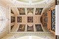 Poertschach Pfarrkirche hl Johannes Tonnengewoelbe und Orgel 20082015 6826.jpg
