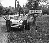 Pogányszentpéter község északi határa. 1962. - Fortepan 73651.jpg
