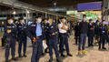 Police PTU standby outside Harbour City 20201224.png