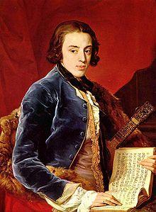 John Brudenell-Montagu (1735-1770), ultimo marchese di Monthermer, ritratto da Pompeo Batoni