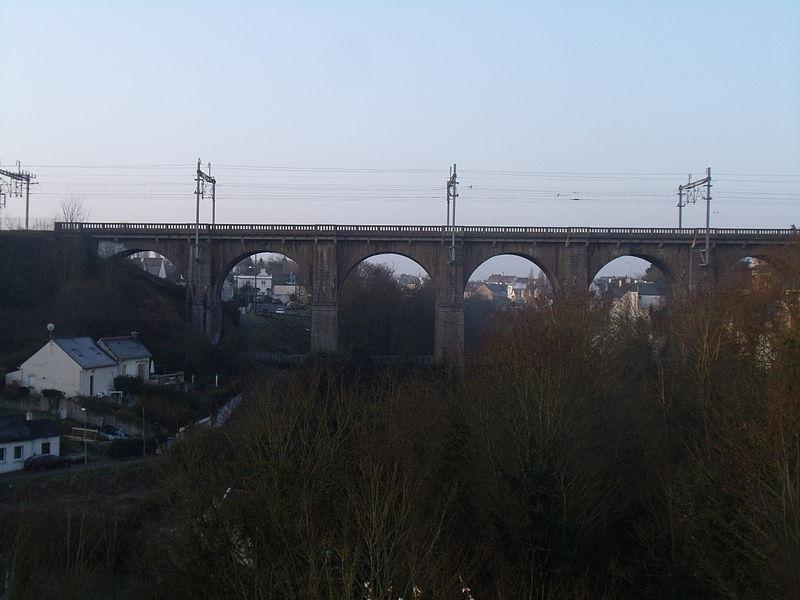Le Viaduc ferroviaire du Gouédic à Saint-Brieuc