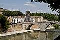 Ponte Cestion, Trastevere, Rome, Lazio, Italy - panoramio.jpg