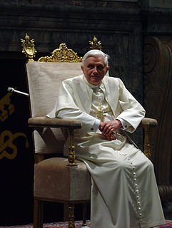 Pope Benedict XVI bibliography Wikimedia list article