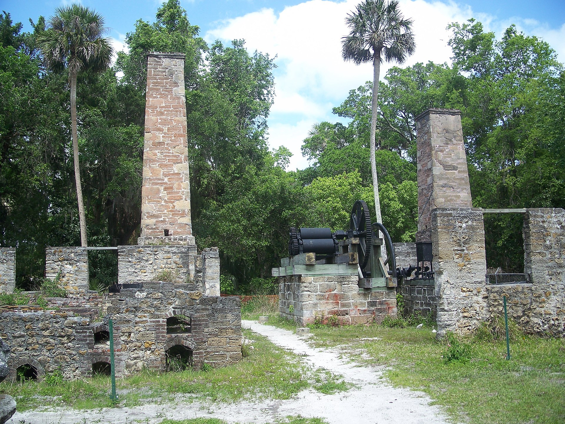 Dunlawton Plantation And Sugar Mill Wikipedia