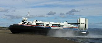 Firth of Forth - The Fife-Edinburgh hovercraft service