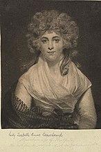 Elizabeth Cavendish, Duchess of Devonshire