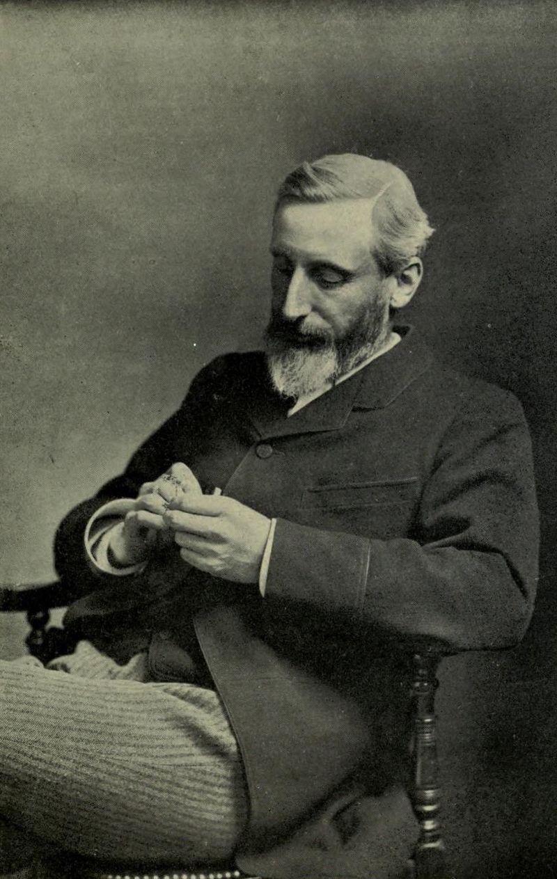 Portrait of Grant Allen, by Elliott & Fry
