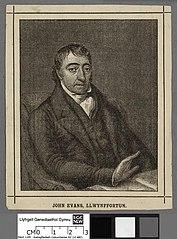 Revd. John Evans, Llwynffortun