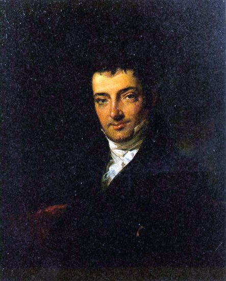 Portrait of Washington Irving attr. to Charles Robert Leslie
