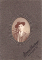 Portrait of man in hat by Davis Gallery of Richmond Virginia.png