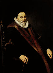 Portrait of Cornelis Pietersz Hooft (1546-1626)