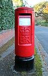 Post box on Prospect Road, Prenton.jpg