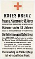 Poster of the Red Cross concerning under 18 year olds joining the medical nursing force during world war one.jpg