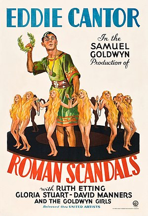 Roman Scandals - Image: Poster of the movie Roman Scandals