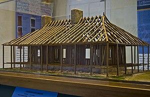 Poteaux-sur-sol - Image: Poteaux sur Solle Model
