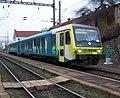 Praha-Bubeneč, vlak Arriva vlaky.jpg