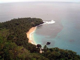 Príncipe - Image: Praia Banana panoramio