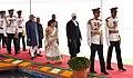 Pranab Mukherjee, the President-elect, Shri Ram Nath Kovind, the Vice President, Shri M. Hamid Ansari, the Speaker, Lok Sabha, Smt. Sumitra Mahajan and the Chief Justice of India.jpg