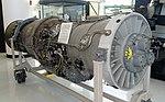 Pratt & Whitney J57 turbojet engine - Evergreen Aviation & Space Museum - McMinnville, Oregon - DSC00873.jpg