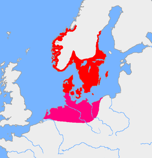 Iron Age Scandinavia - Extent of Pre-Roman Iron Age settlements in Scandinavia, 4th century BC - 1st century BC