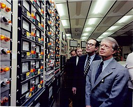 President Carter in the TMI-2 Control Room.jpg