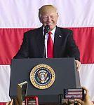 President Donald Trump speaks to U.S. service members overseas 170527-M-GL218-210 (cropped).jpg