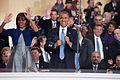 President and first lady dance to performers at 57th Inaugural Parade 130121-Z-QU230-273.jpg