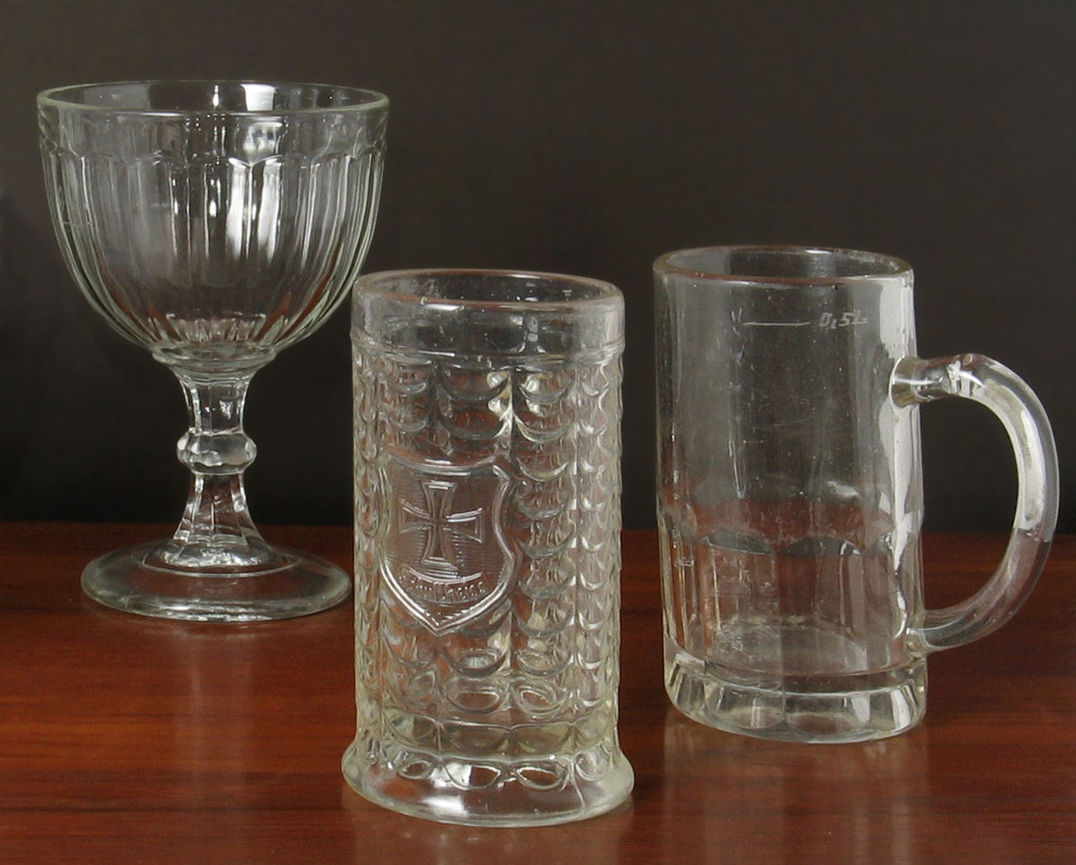 Form Pressed Glass