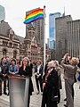 Pride Flag Raising Ceremony 2014 Toronto Canada.jpg