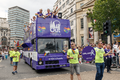 Pride in London 2016 - NBC Universal London Out float in the parade.png