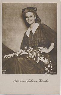 Princess Sophie of Hohenberg austrian noblewoman
