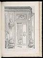 Print, Projet de Porte d'Appartement fait pour M.e la Baronne de Bezenval; Projet de porte pour Madame de Besenval, (1730-1734), 1st Plate, 1740 (CH 18222677-2).jpg