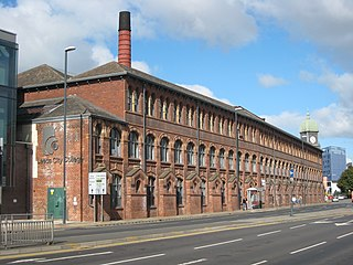 Hunslet inner-city area in south Leeds, West Yorkshire, England